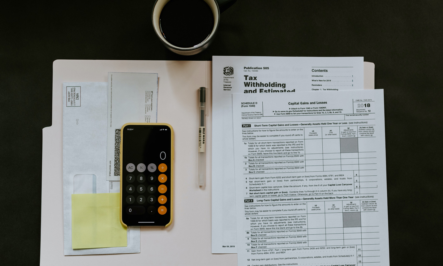 Manage taxation